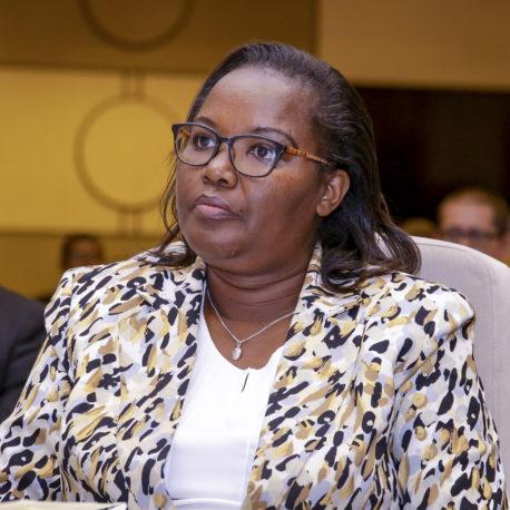 Hon. Dr. Gerardine MUKESHIMANA